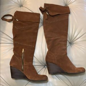 Nicole Leather Boots